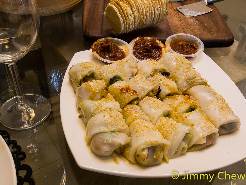 Chee Cheong Fun Popiah by Michelle Mah.