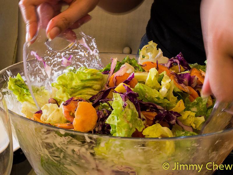 Salad by Tan Soo Wei.