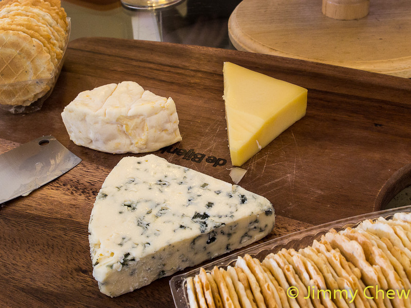 Goat Cheese, Cheddar Cheese & Blue Cheese by Princess Diane. Blue Cheese also known as Seaweed Cheese according to Hong Atoz. And Goat Cheese also known as... can't say it... he'll get kicked!