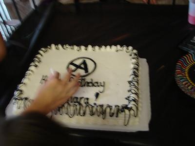 Samara's Birthday  2008