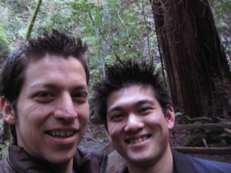 Jonathan and me in Muir Woods.