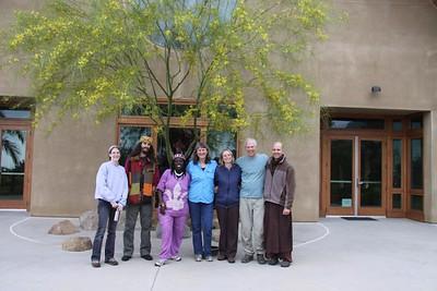 Sangha weekend at Deer Park