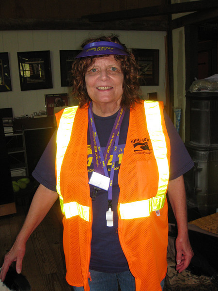 Myrna:  Picket Captain.  Sonoma County.
