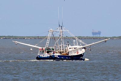 The shrimp boat Capt. Bailey