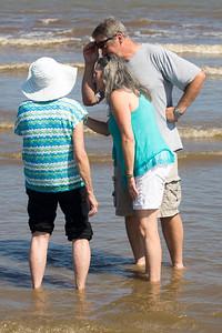 I think Carol, Sara, and Peter have found a seashell.
