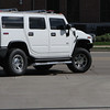The HUMMER rolls away from the No. 1 Station