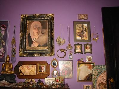 a bedroom wall