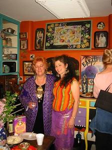 May 22, 2004. Big house warming party at Sasha's new residence.