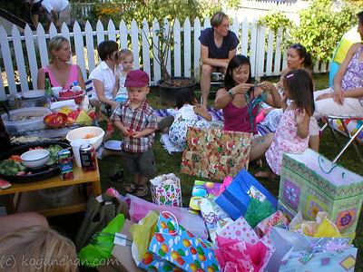 saskia's birthday august 2005