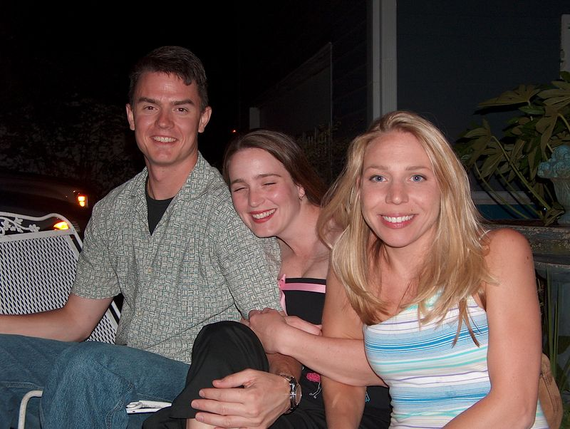 Tara, Mary-anne and some guy