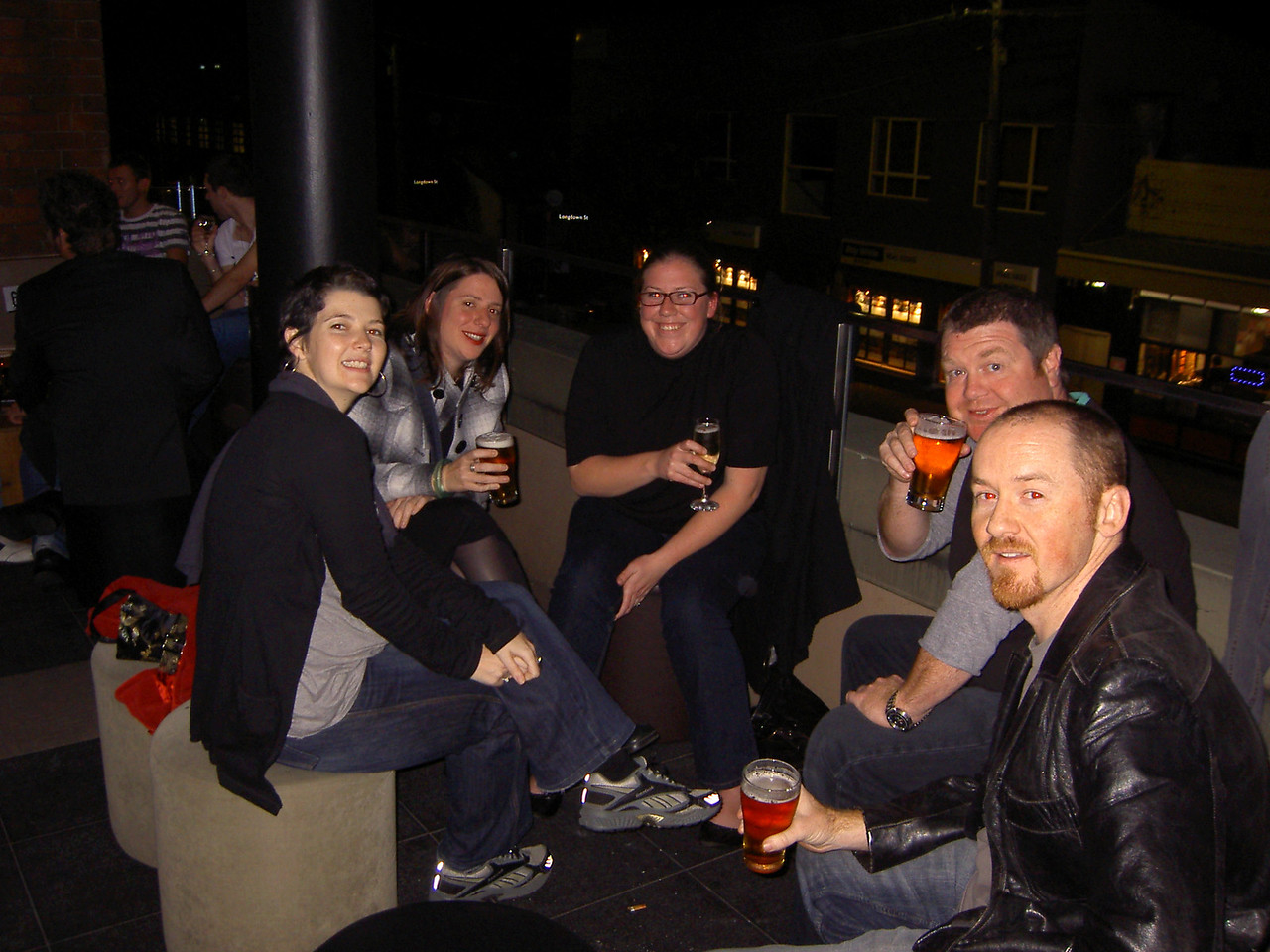 Maz, Holly, Katie, Scott, Matt @Marlborough