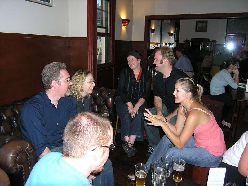 Matt, Kevin, Marg, Ev, Mikey, Amberley
