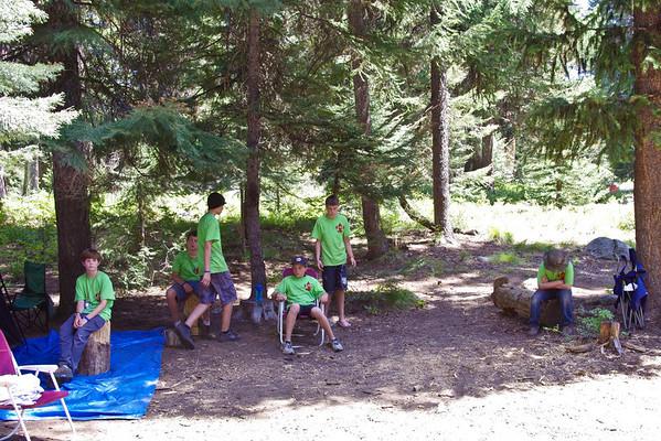 Scout Camp 2012 Camp Morrison