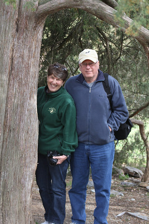 Sue & Gary Siebert - Duke Gardens 3/11