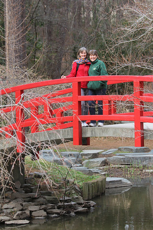 Suzanne & Melanie - Duke Gardens 3/11