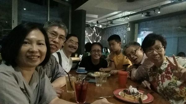 Selfie at Thomson V 2 (12 Sep 2014)