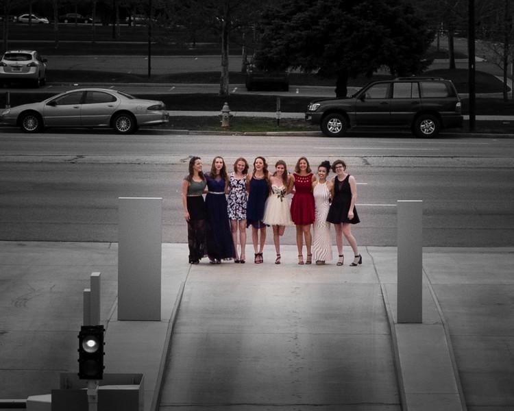 Eva, Ivy, Anna, Zoe, Emma, India, Xena, Ruby