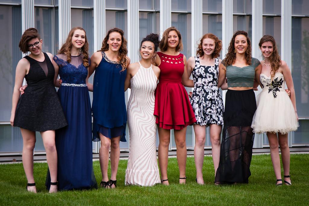 Eva, Zoe, India, Anna, Ruby, Ivy, Xena, Emma