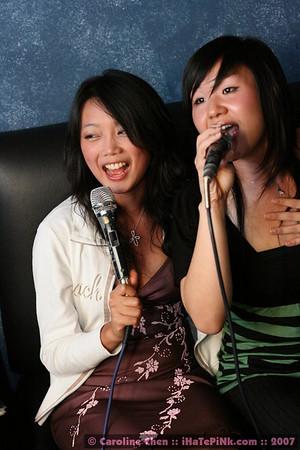 September 2007: June's Bday, Day 2 - The Karaoke Drinkdown