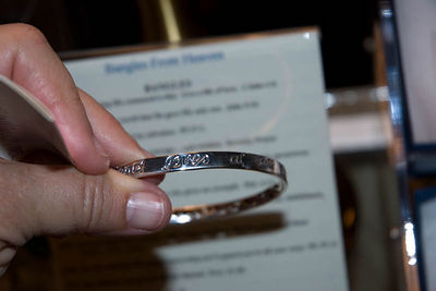 cool silver bracelette at Taylors