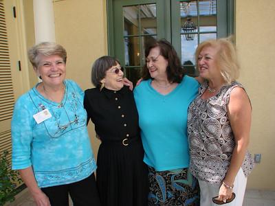 Sherron Kamen Good-bye Lunch, Keswick Hall, Charlottesville, VA, Sept. 1, 2009