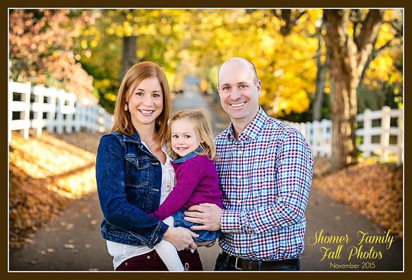 Shomer Family  2015 Fall Photos