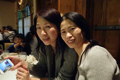 Shui's Birthday Dinner--March 2014