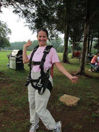 Skydiving with Olga and Kari - September 4, 2011
