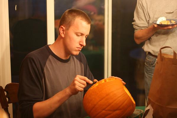 Small Group Pumpkins 2008
