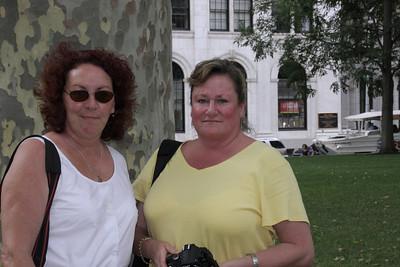 Carole and Leslie