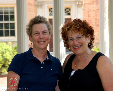 August 2008 - Laura S and I on the campus of UNC Chapel Hill. Her fabulous images of Chapel Hill were the lure to visit the state and Steve and I totally enjoyed our visit with her and her husband that afternoon!