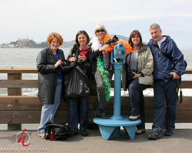 April 30th, 2009  A fabulous day in San Francisco and the Bay Area with some fellow SmugMuggers.  From left - Me ( Hillary ), Monica Toohey-Krause (KatchinYaKandid), Kathy Clarke (LadyKatePhotography) Robin and Darron Haworth ( RandD)  It was a  fabulous experience to hang out with this group...we all felt like we had known eachother forever! Terrific fun!