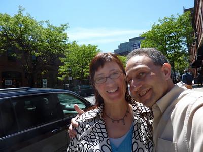 Marcia and Shep (Newbury St Boston 2010)