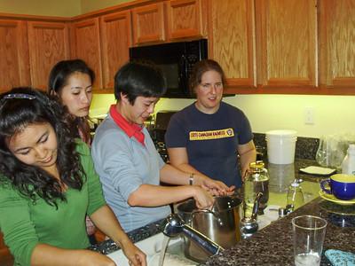 Chisa, Wen-Ching, Anna, & Erica