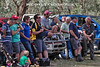 Game day Member's Northern Grandstand crowd at the Bungendore Tigers game April 6th 2013.