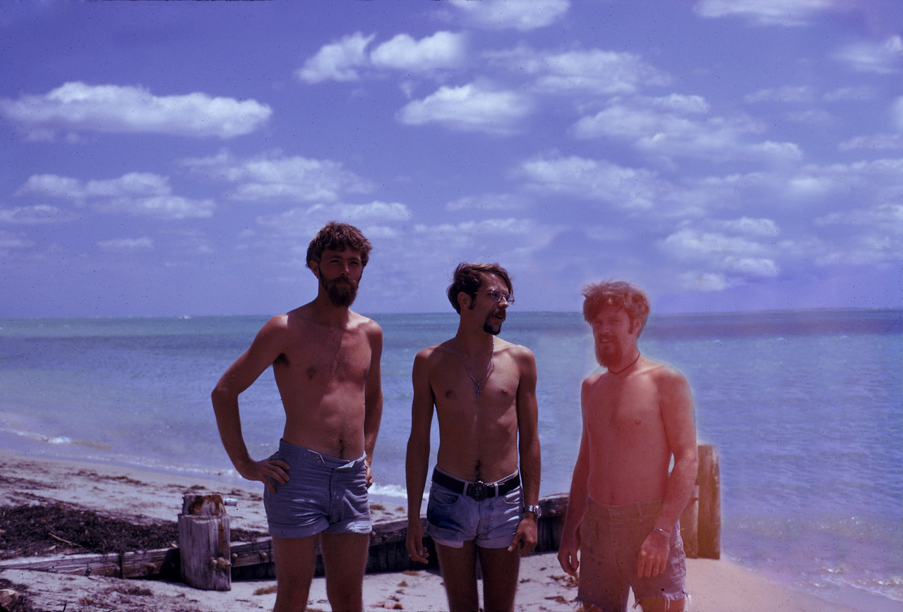 THE END RESULT - Gerry Kuhl, Dave Silverthorn and Jack Casey<br /> Mar 1974 in Florida