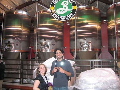 The Sergio Brewmasters @ Brooklyn Brewery