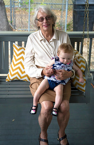 Carol Lienhard with Harper Lee.