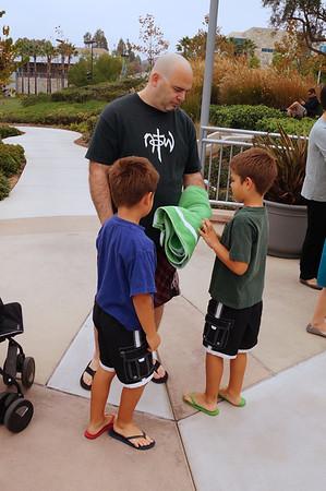 Spencer & Xander baptism 2013-10-27