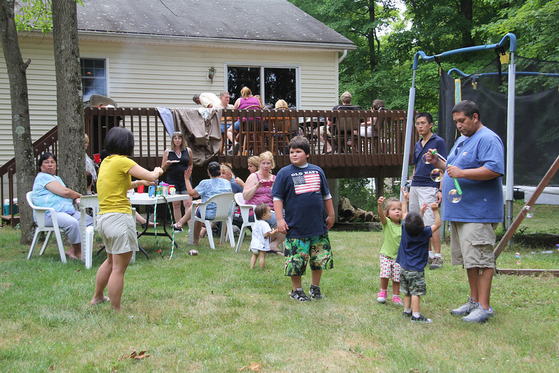 Spina 3rd annual BBQ 7-14-12
