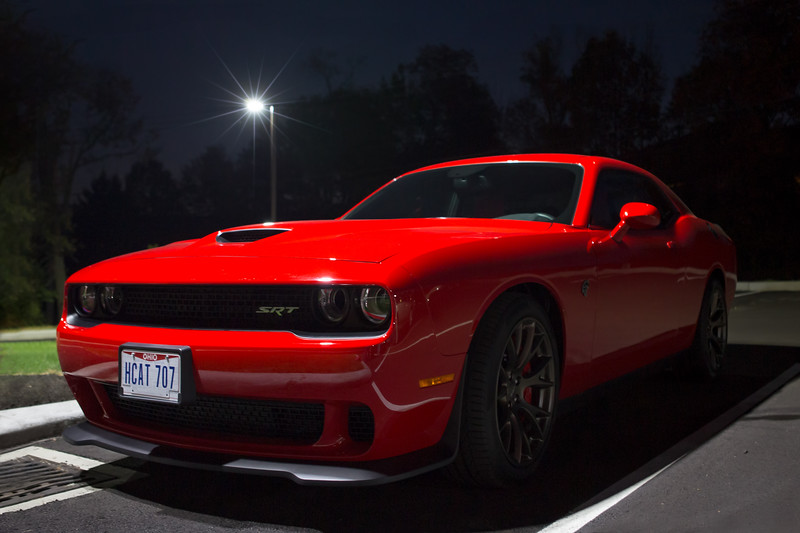 Well, he says it is a Hellcat. Pretty nice car, I think.