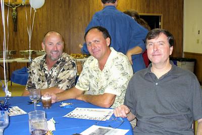 John Cahill, Dave Mexico, and Jack Short