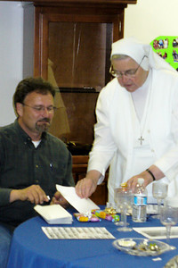 Mark Petit and Sister Rita