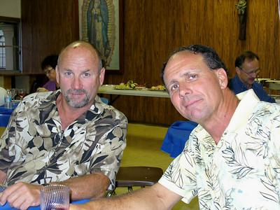 John Cahill and Dave Mexico