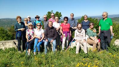 Saint-Martin de Castillon to Caseneuve walk 04 May 2016