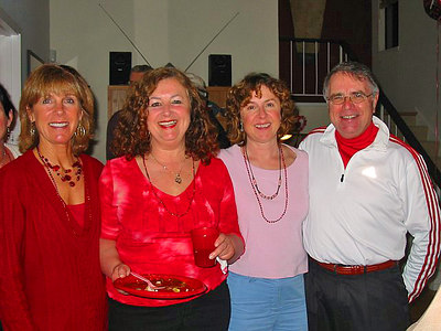 St. Valentine's Potluck at David Falconer's Home