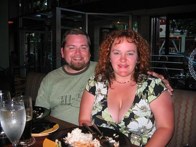 Joey and Jinja  Smug couple.