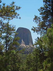 Devil's Tower seen from Joyner Scenic Trail