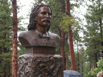 Bust of Wild Bill Hickock