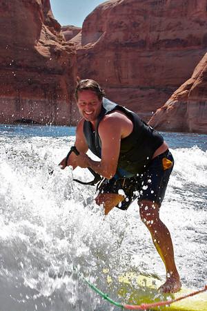 Steve Tullar at Lake Powell
